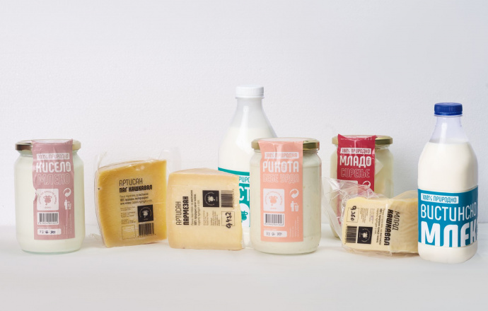Вистинско млеко и млечни производи