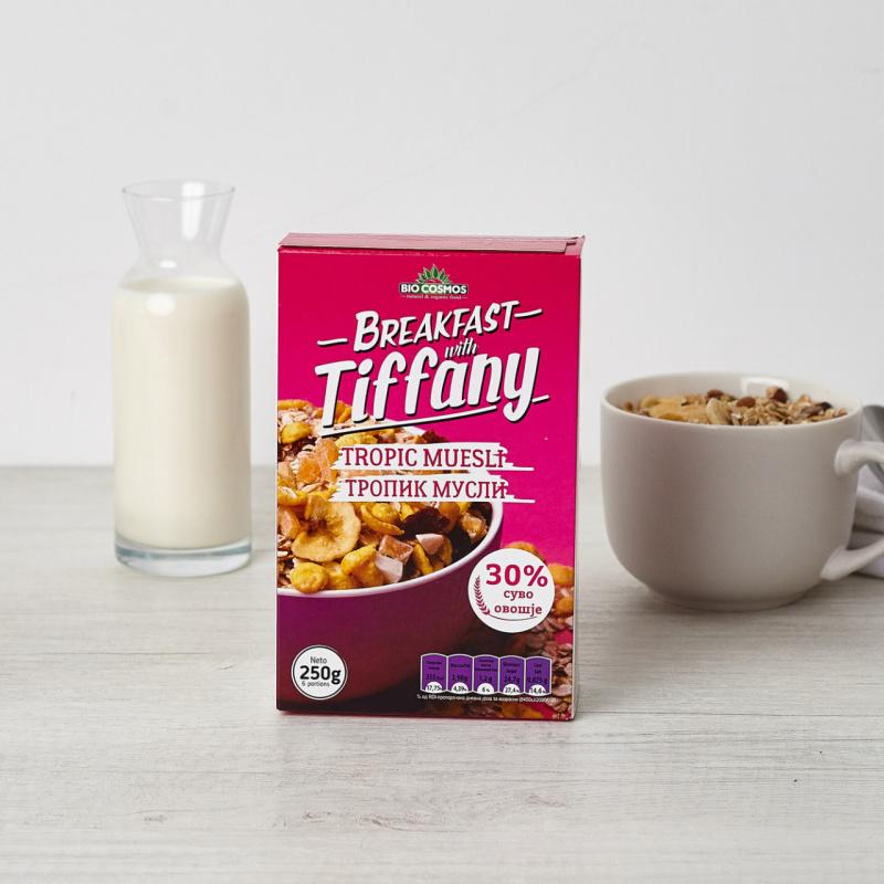 Тропик мусли – Појадок со Тифани