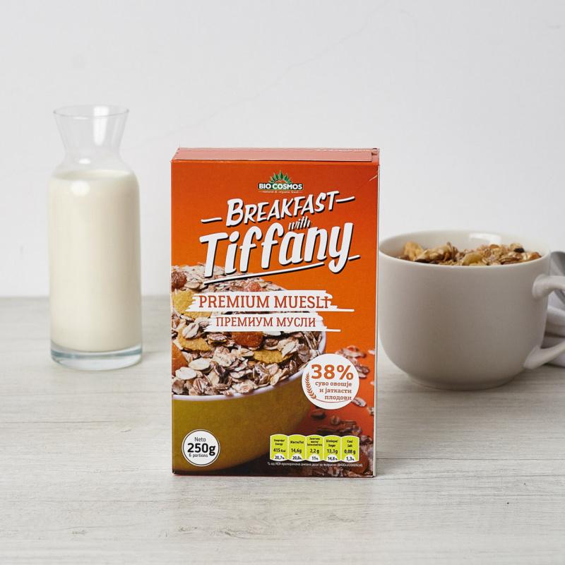 Премиум мусли – Појадок со Тифани