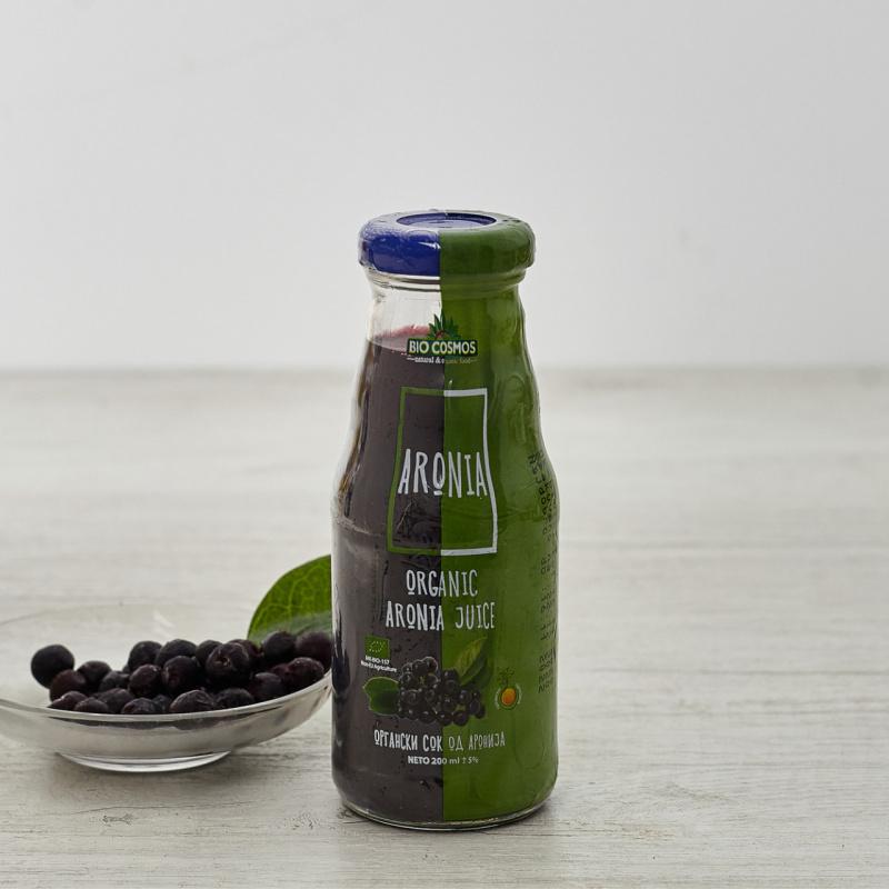 Органски сок од Аронија