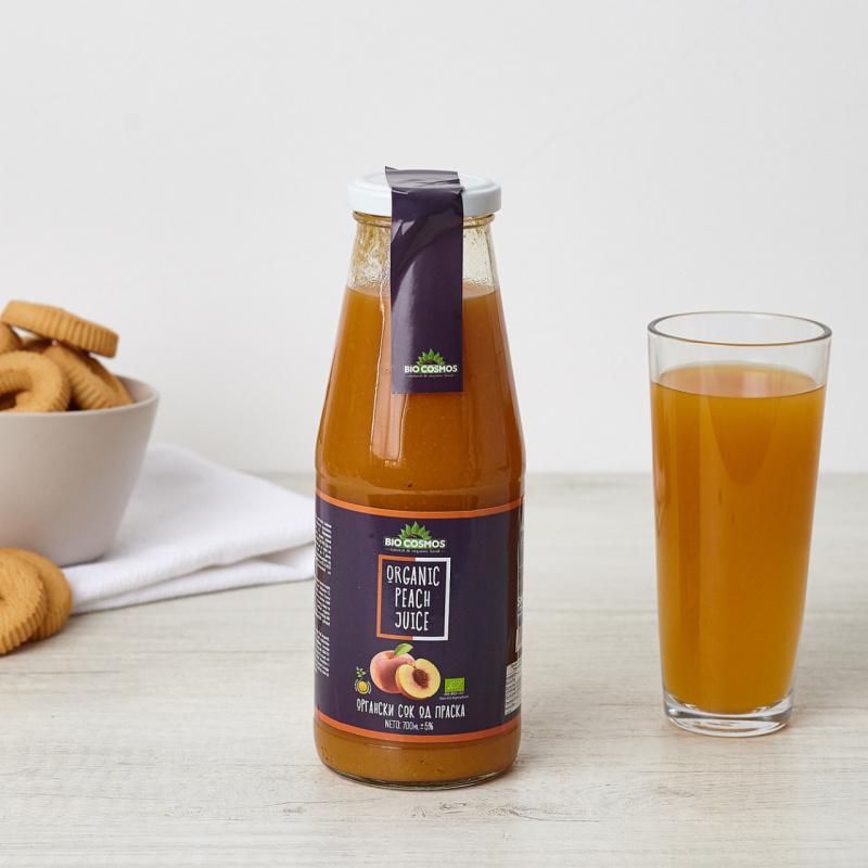 Органски сок од праска