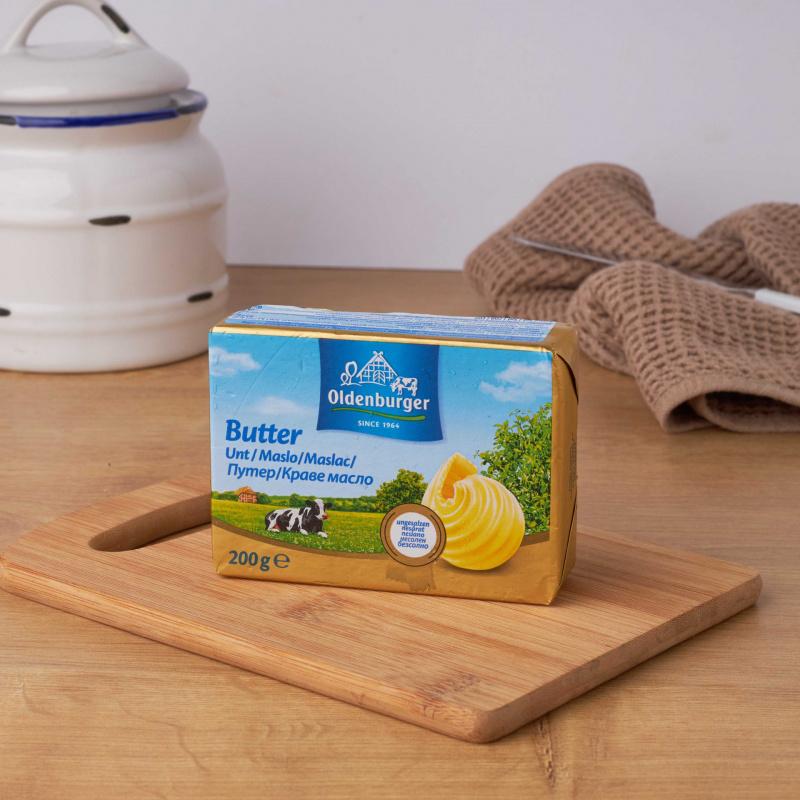 Путер солен со 82% млечни масти