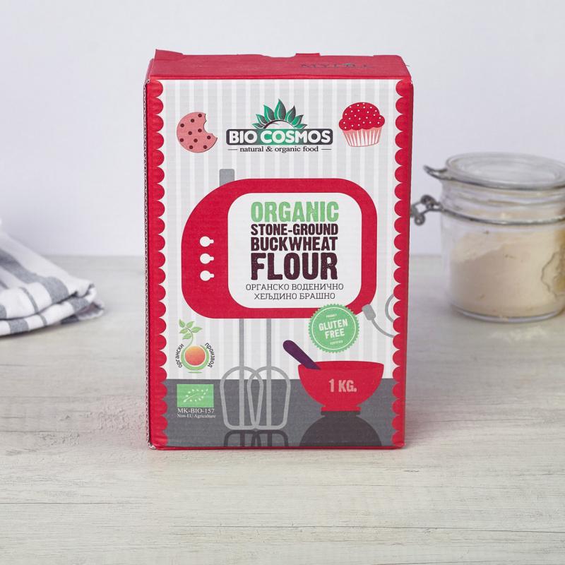 Органско безглутенско воденично брашно од хељда