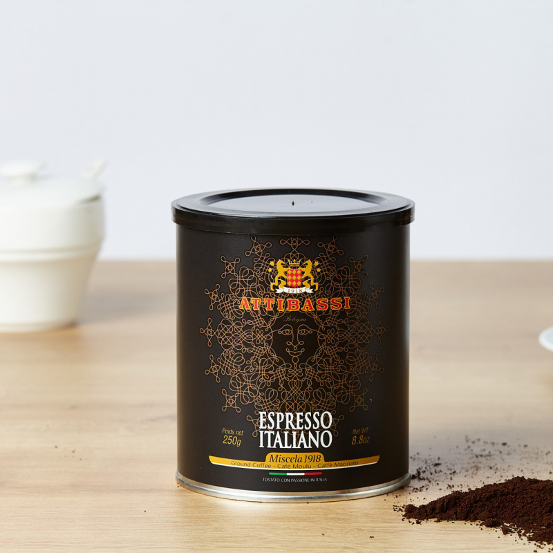 Attibassi Moka 1918 мелено кафе