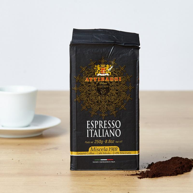Attibassi Espresso Italiano мелено кафе