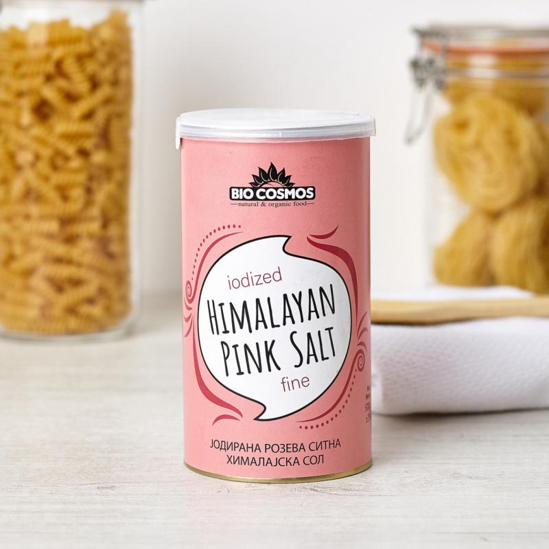 Хималајска јодирана розова сол ситна