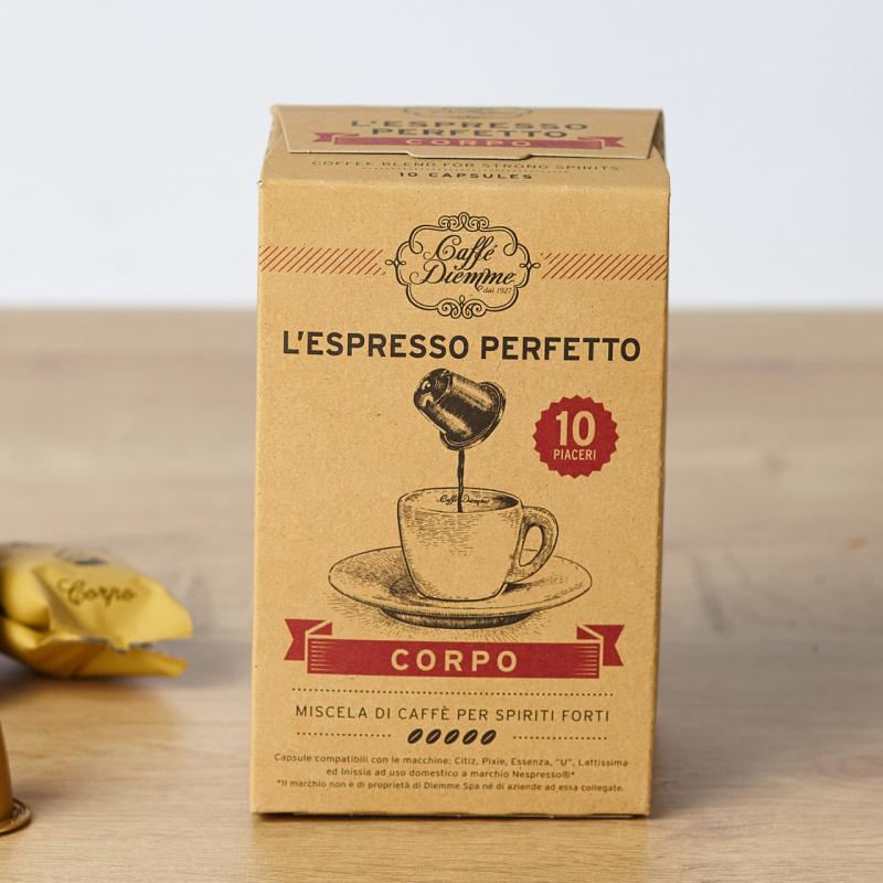 Кафе капсули Diemme Perfetto Corpo (Nespresso компатибилни)