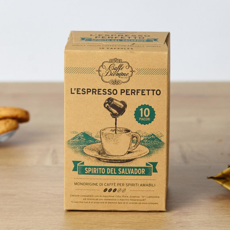 Кафе капсули Diemme Spirito del Salvado (Nespresso компатибилни)