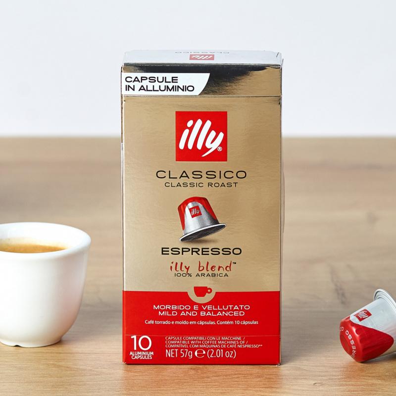 Кафе капсули Illy Classico (Nespresso Компатибилни)