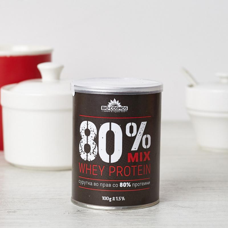 Сурутка во прав 80% протеини