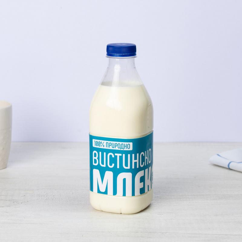 Полномасно природно кравјо млеко