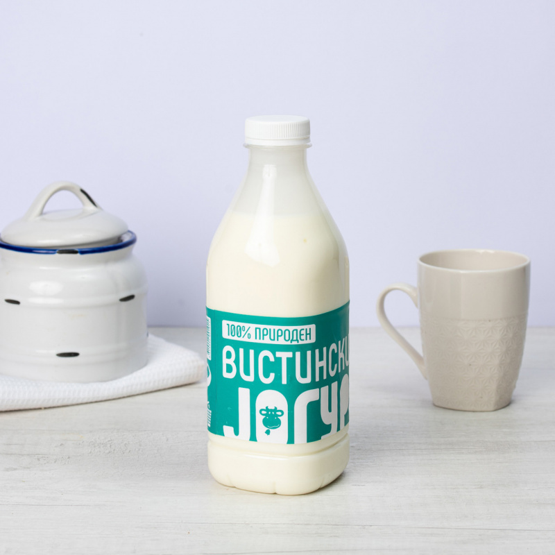 Полномасен традиционален јогурт