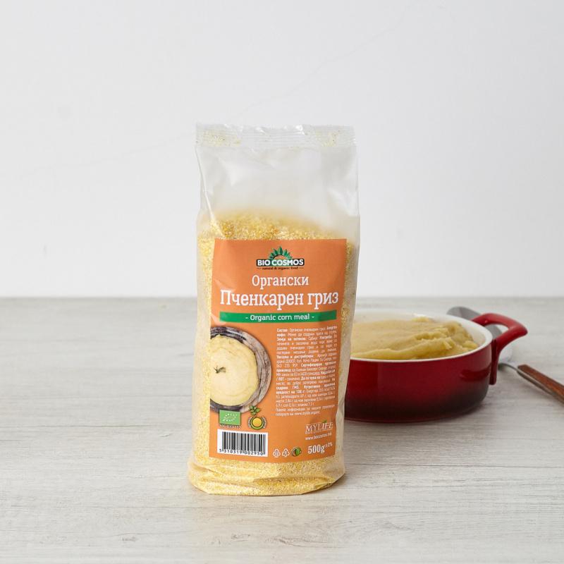 Органски пченкарен гриз