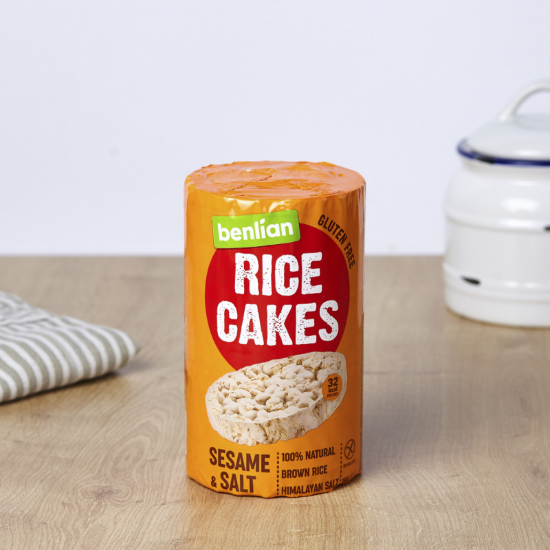Оризови галети со сусам и сол