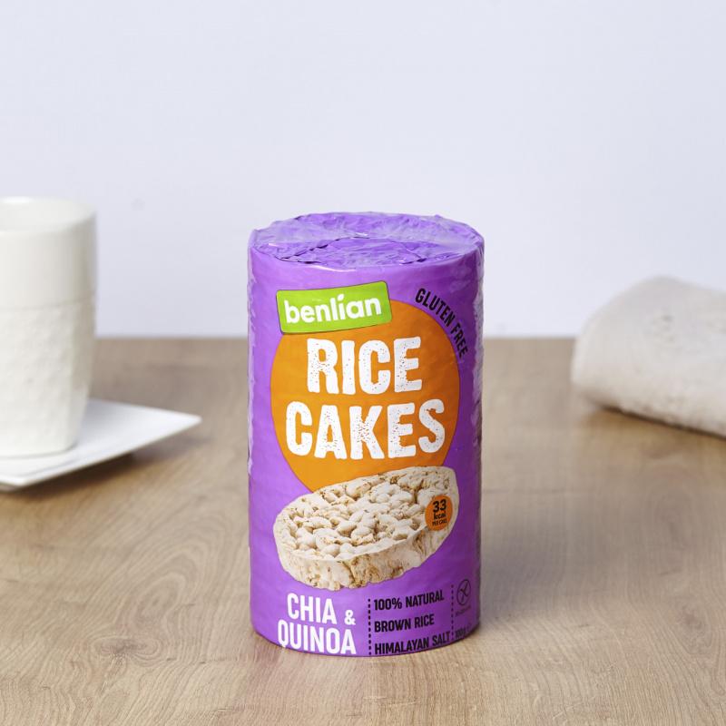 Оризови галети со чиа и киноа