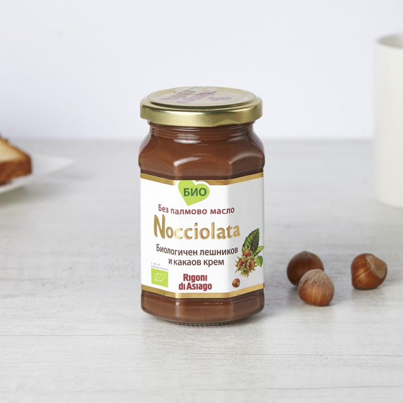 Органски какао крем со лешник