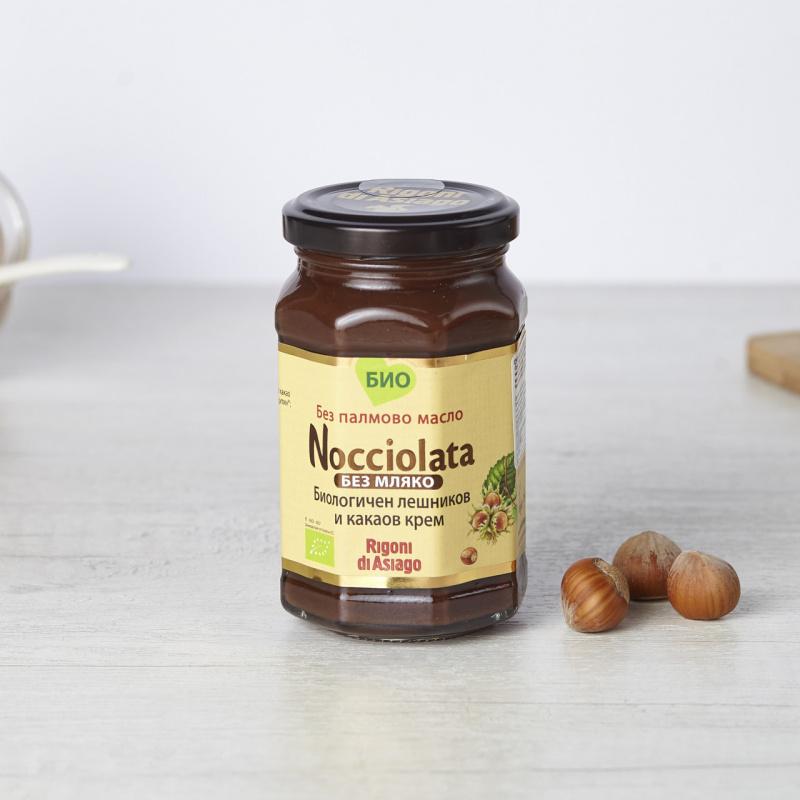 Органски какао крем со лешник без млеко
