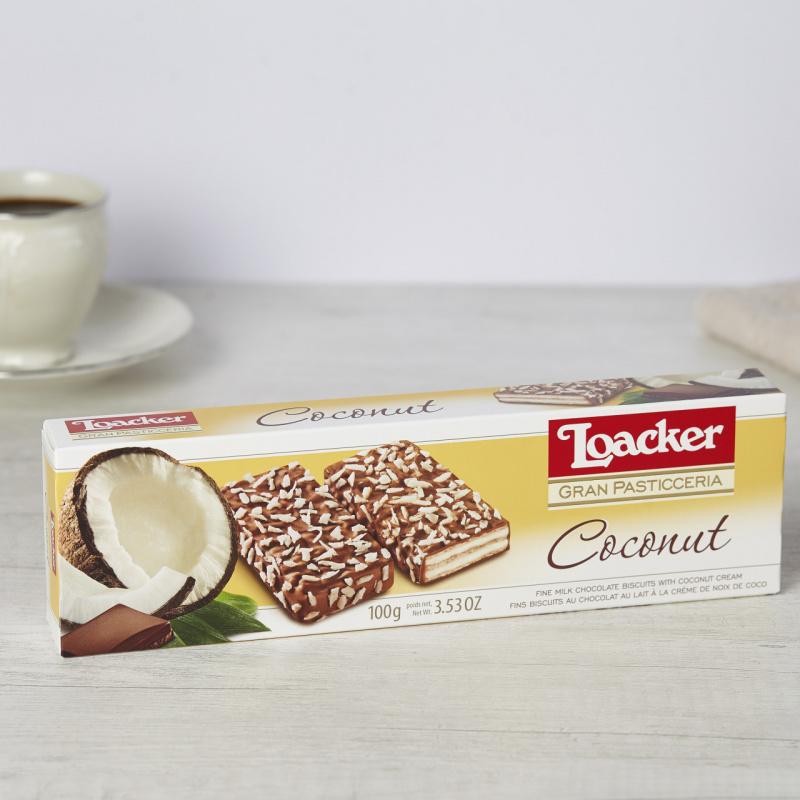 Чоколадни бисквити со бело чоколадо и кокосов крем