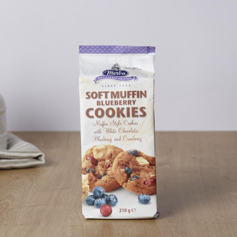 Меки мафини колачи  боровница, брусница и бело чоколадо