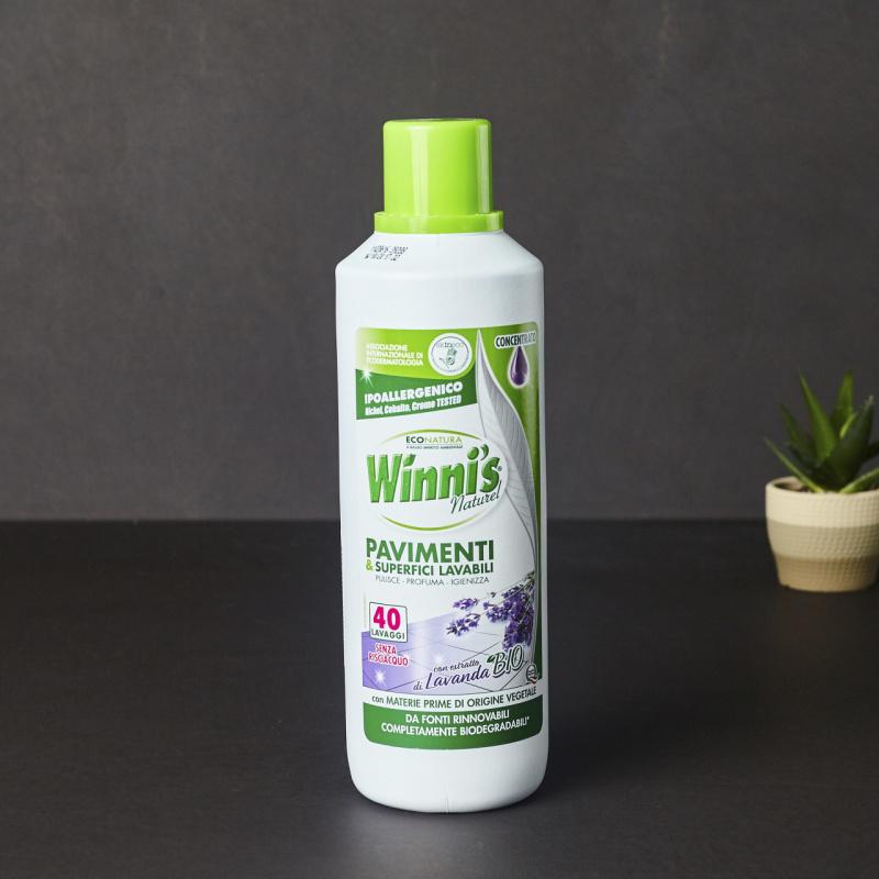 Еколошко средство за подни површини со мирис на Лаванда
