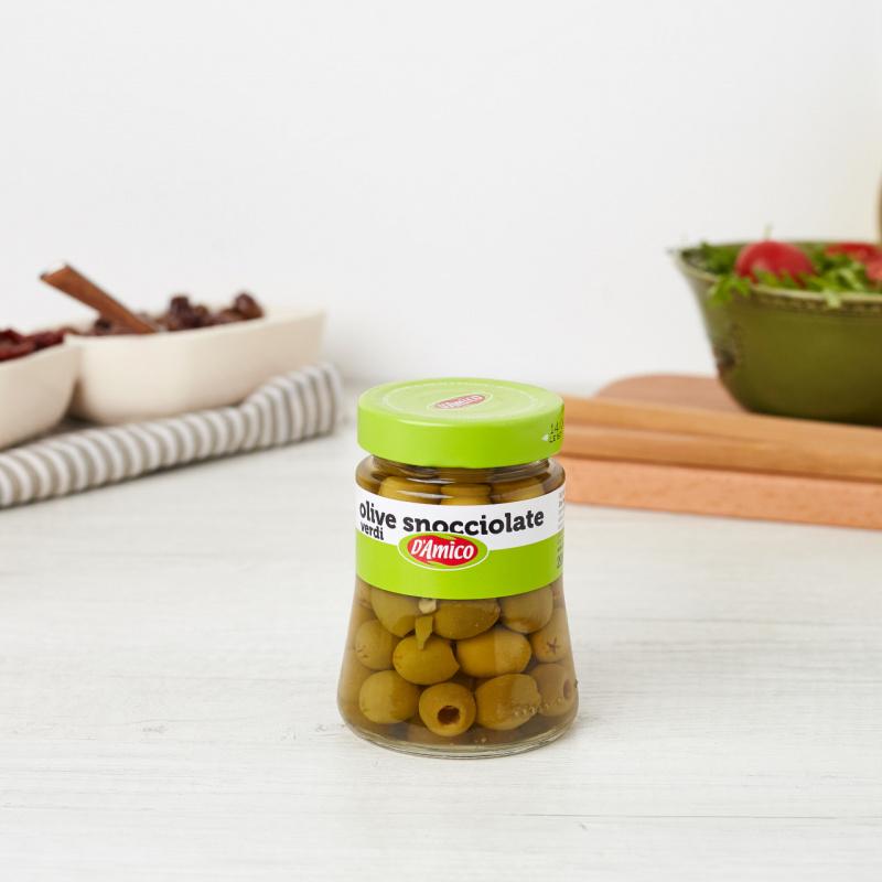 Зелени маслинки без семка