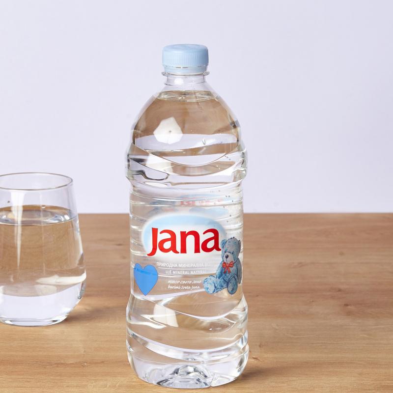 Минерална негазирана вода Јана