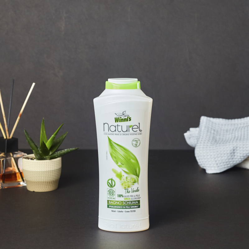 Природна купка за тело со зелен чај