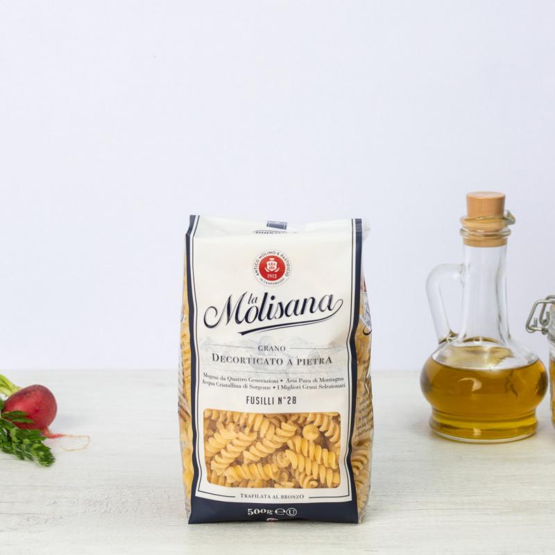 Тестенини од тврда пченица Фусили