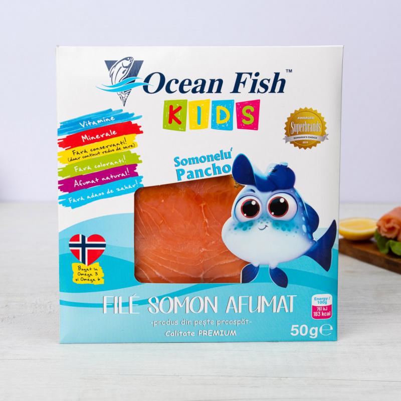 Димено филе од лосос за деца