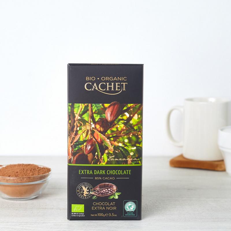 Органско црно чоколадо со 85% какао