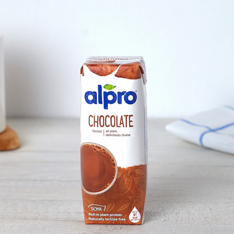 Соја напиток со чоколада