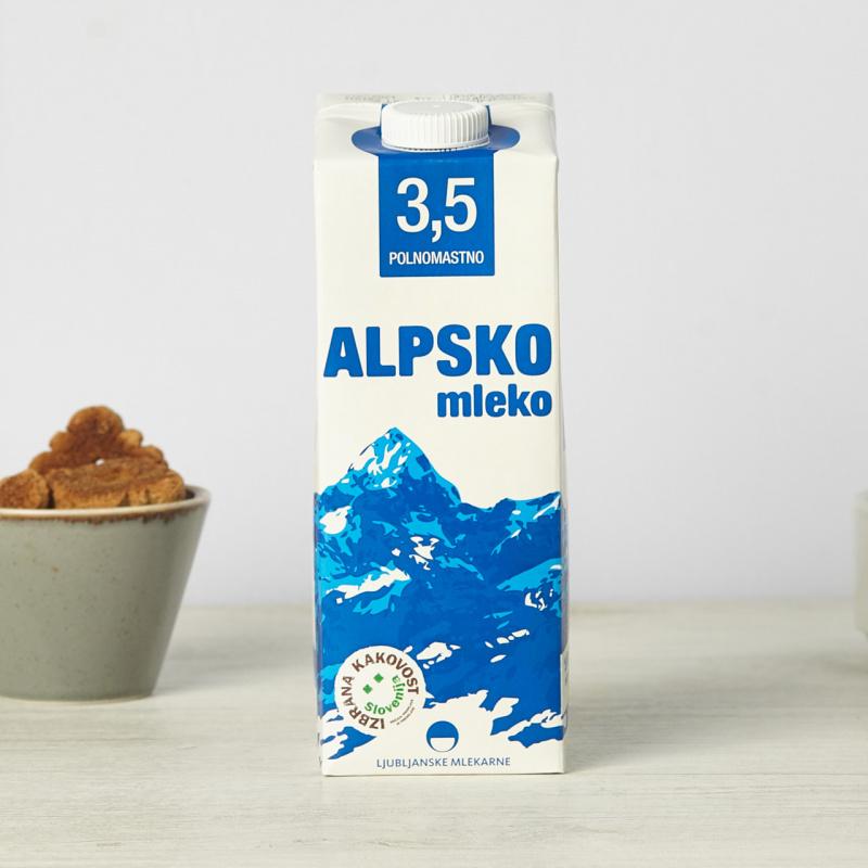 Кравјо полномасно млеко 3,5%мм