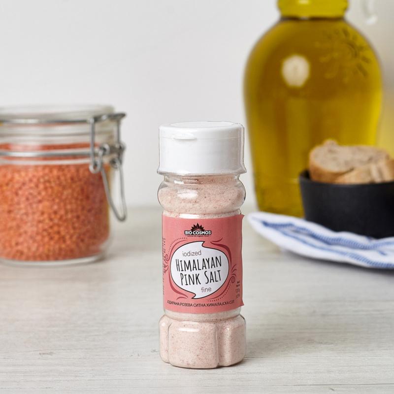 Хималајска јодирана розева сол ситна