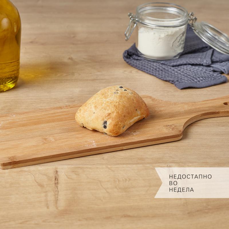 Мини чабата со  маслинки