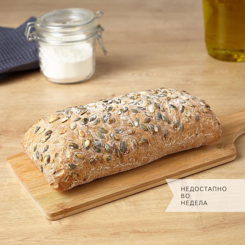 Леб со семки од тиква