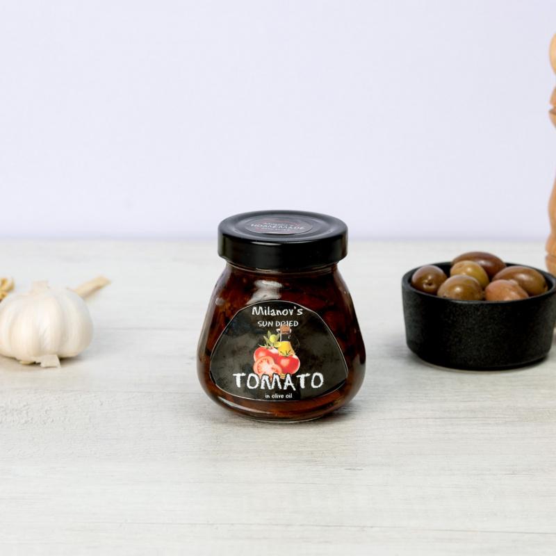 Сушен домат во маслиново масло