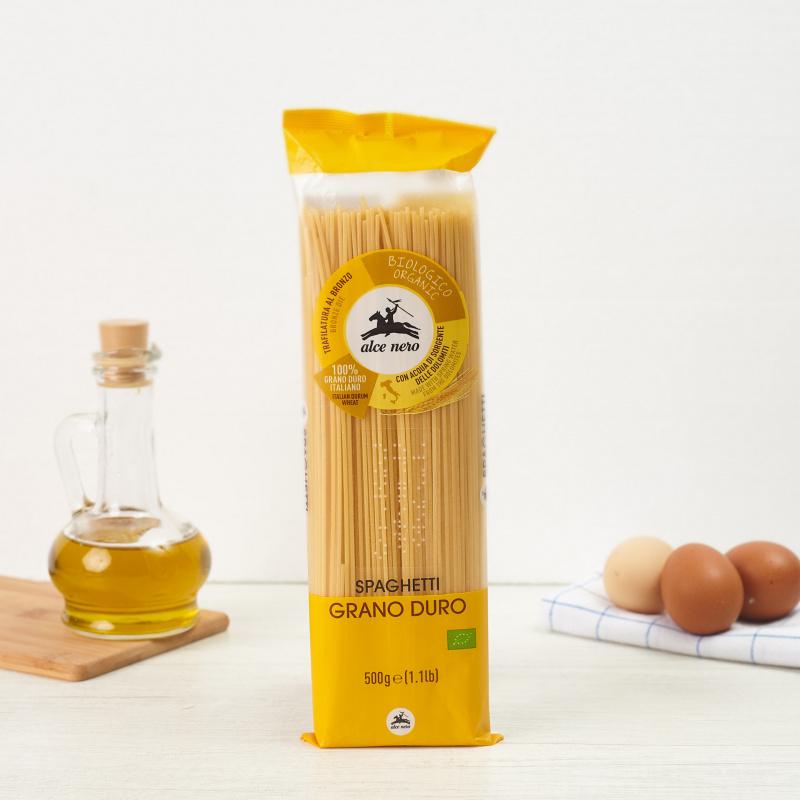 Органски шпагети од тврдо пченично брашно