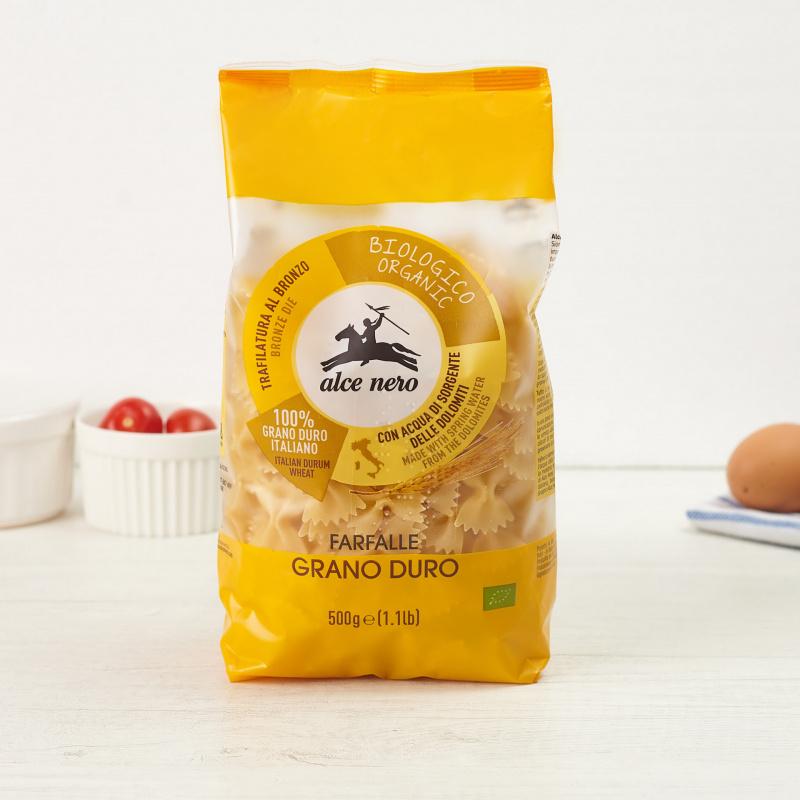 Органски тестенини од тврдо пченично брашно Фарфале