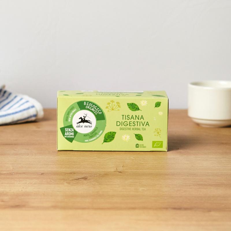Органски дигестивен чај од билки