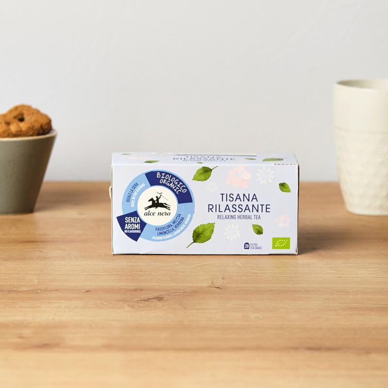 Органски релаксирачки чај од билки