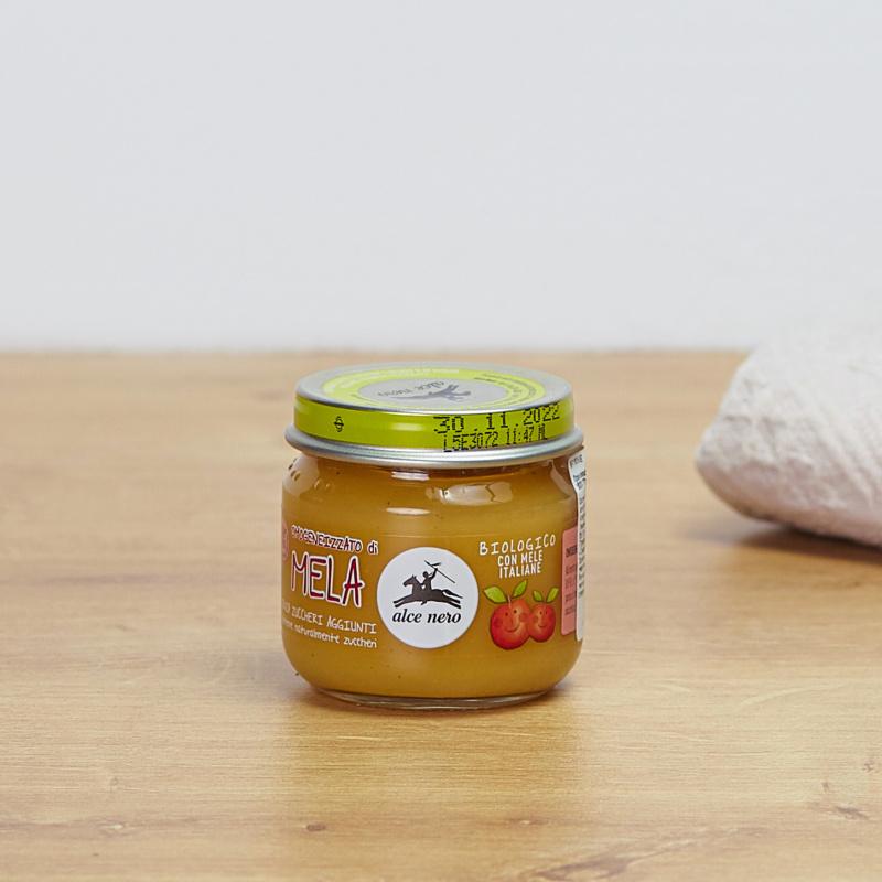 Органска храна за бебиња од јаболко
