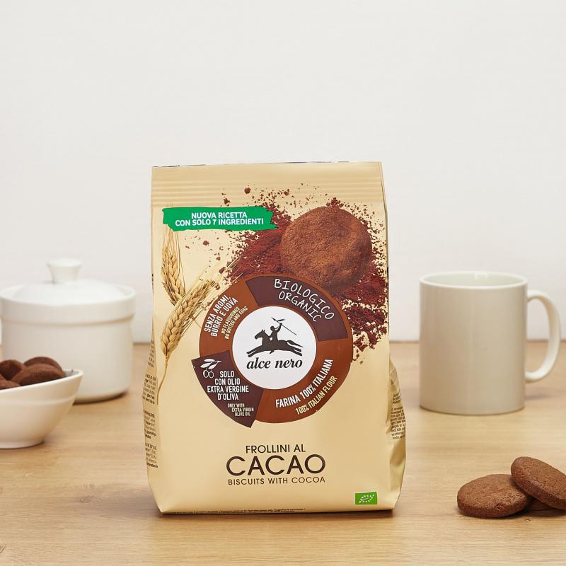 Органски бисквити со какао