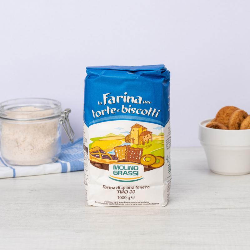 "Бело брашно за торти, бисквити и  колачи Тип ""00"""