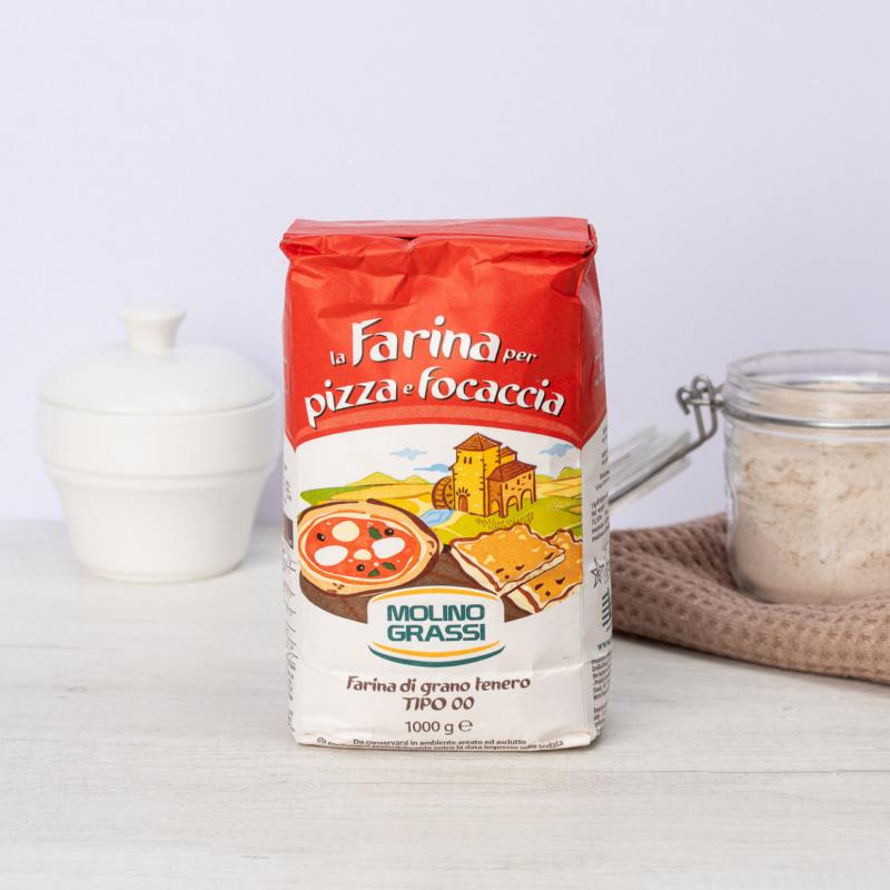 """Бело брашно за пица и фокача Тип """"00"""""""