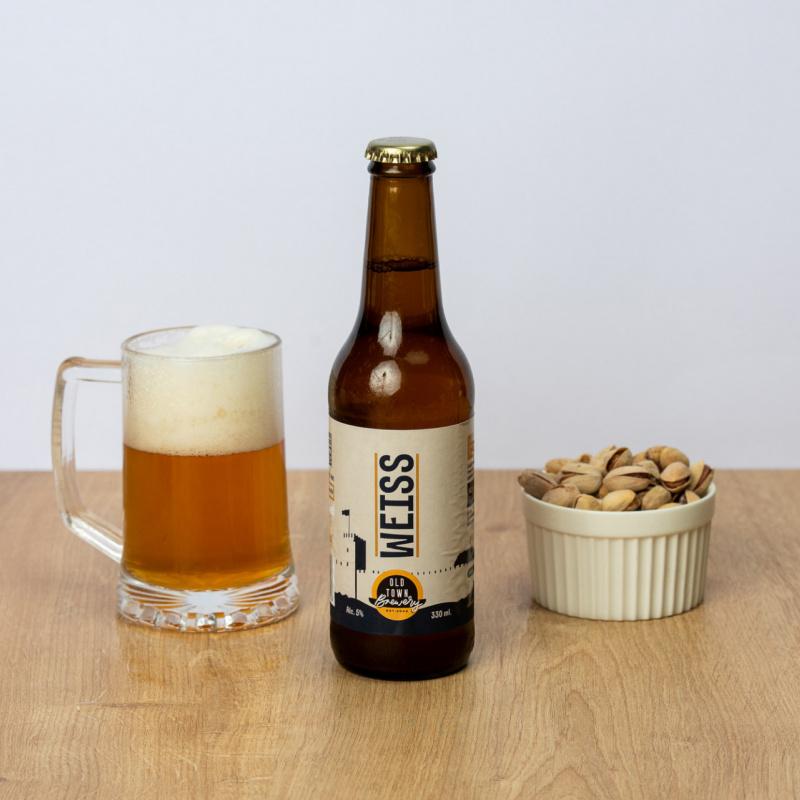 Светло пиво Weiss
