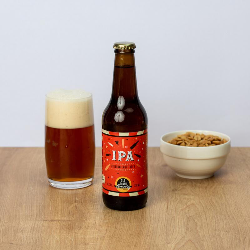 Темно пиво I.P.A.