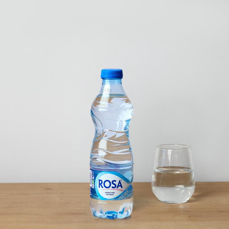 Минерална негазирана вода Rosa