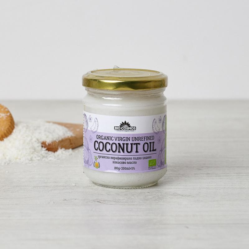 Органско кокосово масло
