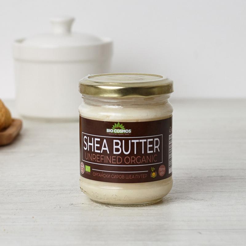 Органски суров ши путер